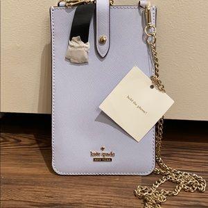 NWT Kate Spade Leather Phone Crossbody